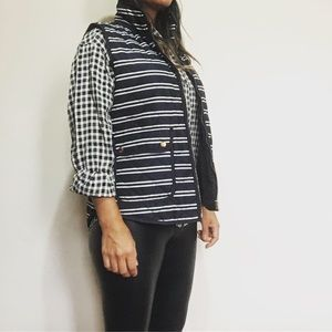Kenar Jackets & Coats - New without tags striped puffer Vest
